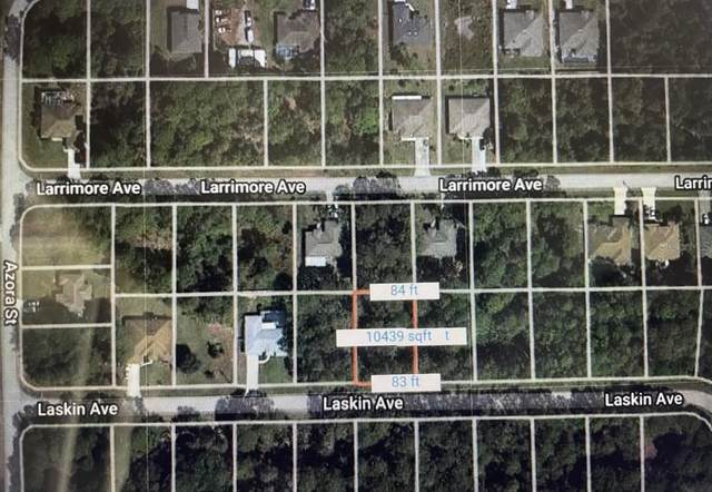 Laskin Avenue, North Port, FL 34291 (MLS #A4504364) :: Gate Arty & the Group - Keller Williams Realty Smart
