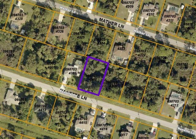 Nanette Lane, North Port, FL 34286 (MLS #A4504368) :: Cartwright Realty