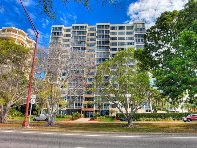 555 S Gulfstream Avenue #301, Sarasota, FL 34236 (MLS #A4504463) :: Globalwide Realty
