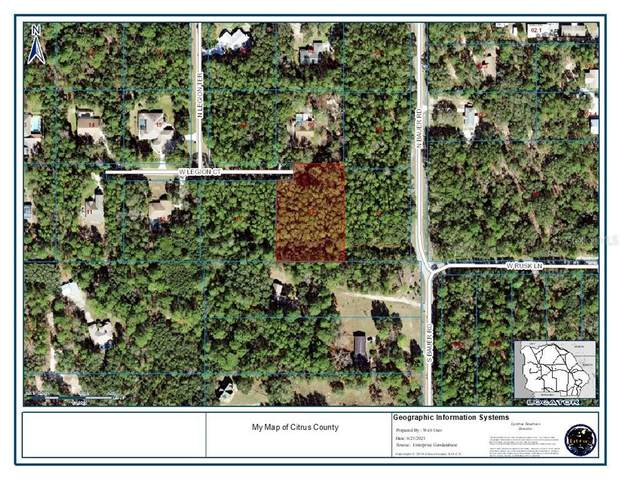 1074 W Legion Court, Hernando, FL 34442 (MLS #A4504703) :: Carmena and Associates Realty Group
