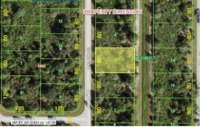 4388 Schneider Street, Port Charlotte, FL 33981 (MLS #A4504746) :: Coldwell Banker Vanguard Realty