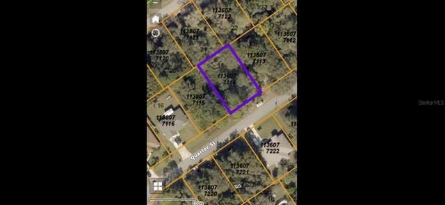 Quarter Street, North Port, FL 34288 (MLS #A4504757) :: RE/MAX Marketing Specialists