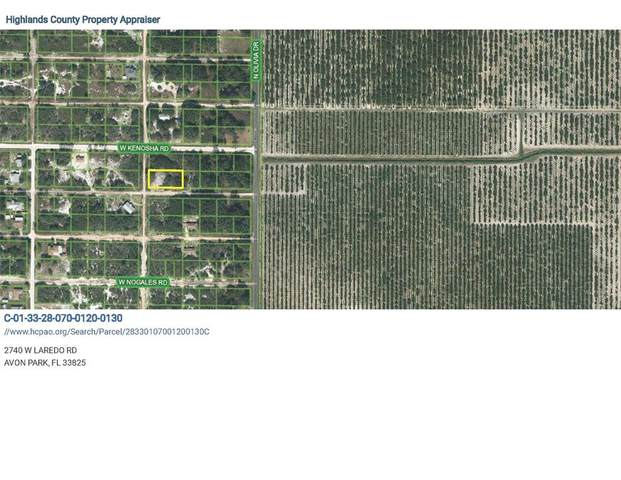 2740 W Laredo Road, Avon Park, FL 33825 (MLS #A4504769) :: The Duncan Duo Team