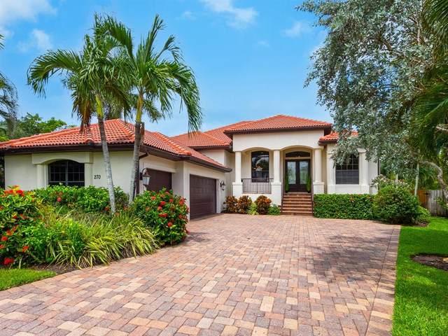 270 Island Circle, Sarasota, FL 34242 (MLS #A4505371) :: Medway Realty