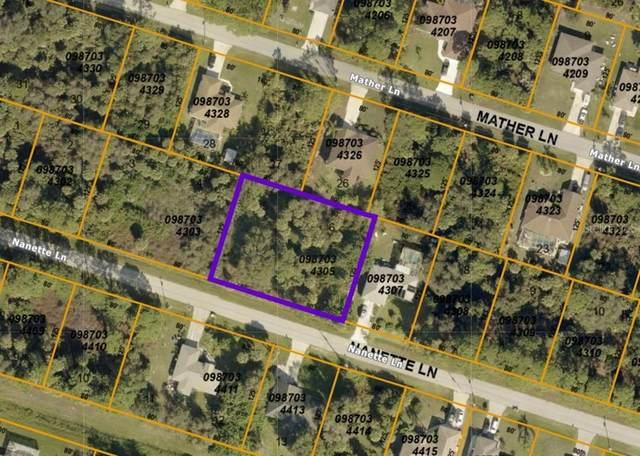 Nanette Lane, North Port, FL 34286 (MLS #A4505519) :: Team Bohannon