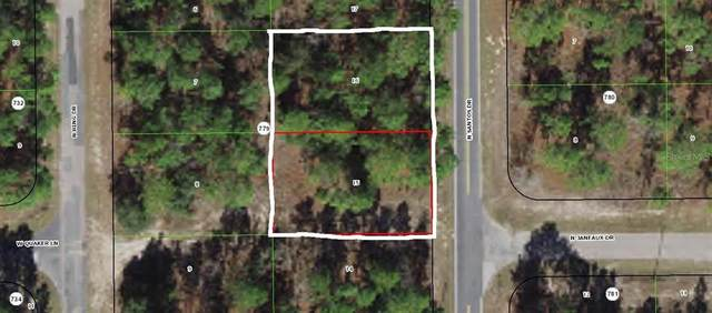 7710 and 7724 N Santos Drive, Citrus Springs, FL 34434 (MLS #A4506127) :: The Paxton Group