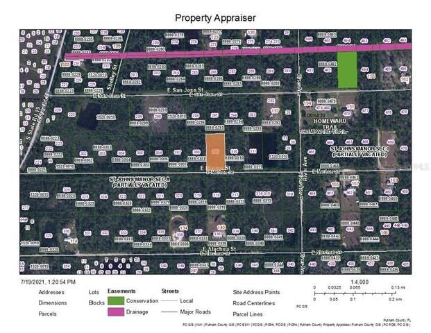 132 E Marion Street, Palatka, FL 32177 (MLS #A4507278) :: GO Realty