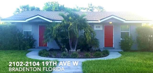 2102-2104 19TH Avenue W, Bradenton, FL 34205 (MLS #A4507335) :: The Duncan Duo Team