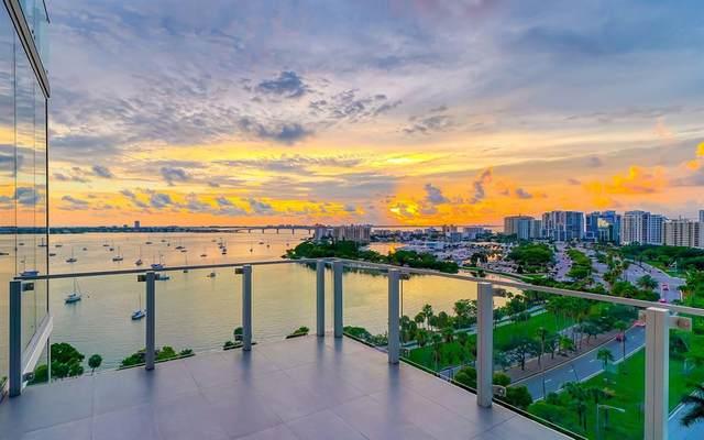 605 S Gulfstream Avenue 10N, Sarasota, FL 34236 (MLS #A4507687) :: Heckler Realty