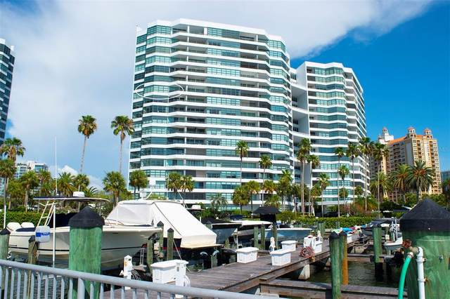 888 Blvd Of The Arts #1208, Sarasota, FL 34236 (MLS #A4507705) :: Griffin Group