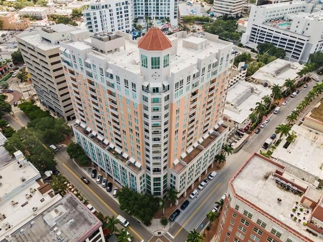 1350 Main Street #1008, Sarasota, FL 34236 (MLS #A4508247) :: Gate Arty & the Group - Keller Williams Realty Smart