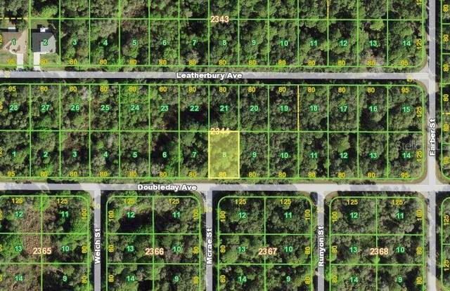 13366 Doubleday Avenue, Port Charlotte, FL 33953 (MLS #A4510967) :: Globalwide Realty