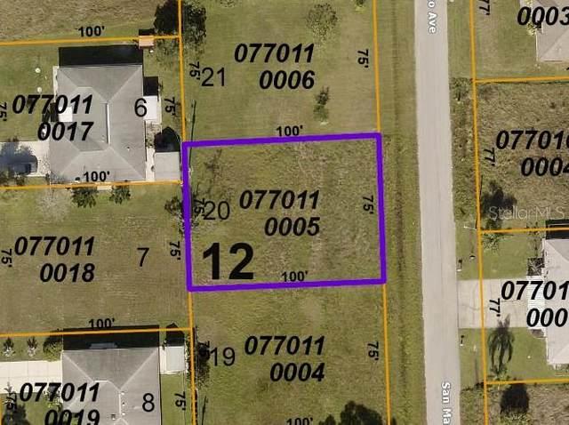 San Marco Avenue, North Port, FL 34287 (MLS #A4511329) :: RE/MAX Elite Realty
