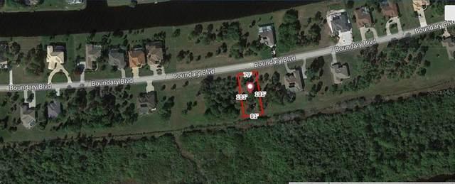 1169 Boundary Boulevard, Rotonda West, FL 33947 (MLS #A4511406) :: The BRC Group, LLC