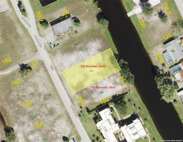 104 Boundary Boulevard, Rotonda West, FL 33947 (MLS #A4511546) :: RE/MAX Elite Realty