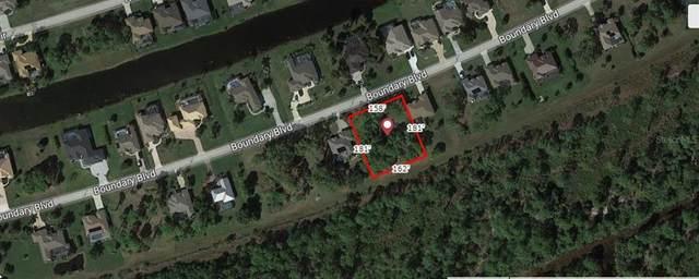 1121 Boundary Boulevard, Rotonda West, FL 33947 (MLS #A4511802) :: The BRC Group, LLC