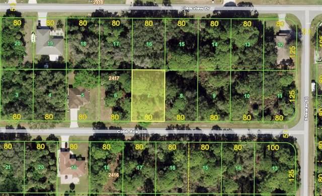 14472 Cobb Avenue, Port Charlotte, FL 33953 (MLS #A4512087) :: RE/MAX Elite Realty
