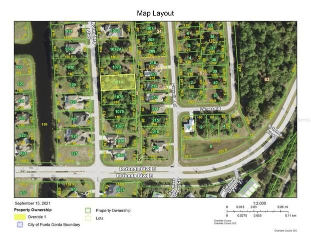 869 Boundary Boulevard, Rotonda West, FL 33947 (MLS #A4512349) :: GO Realty