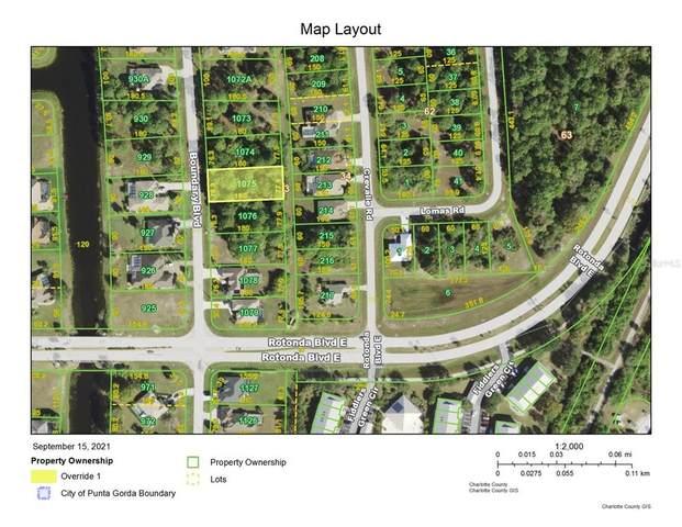 871 Boundary Boulevard, Rotonda West, FL 33947 (MLS #A4512350) :: GO Realty