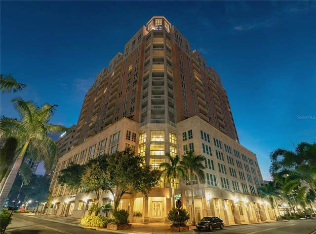 1350 Main Street #807, Sarasota, FL 34236 (MLS #A4512507) :: The Hesse Team