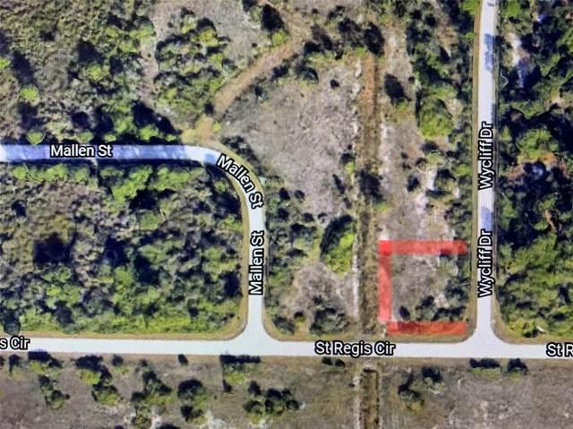 7519 Wycliff Drive (Lot 29), Port Charlotte, FL 33981 (MLS #A4513092) :: Delgado Home Team at Keller Williams