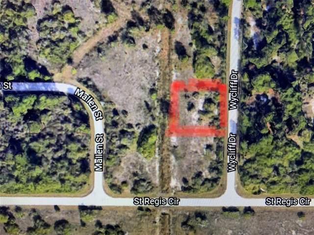 7509 Wycliff Drive (Lot 28), Port Charlotte, FL 33981 (MLS #A4513095) :: Delgado Home Team at Keller Williams