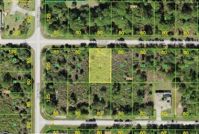 14219 Strader Avenue, Port Charlotte, FL 33953 (MLS #A4513212) :: The Curlings Group