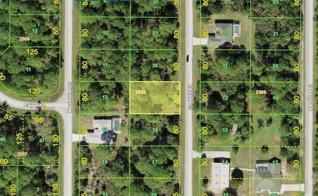 2465 Crockett Street, Port Charlotte, FL 33953 (MLS #A4513244) :: Stiver Firth International