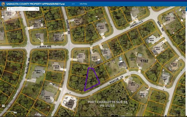 Roscoe Lane, North Port, FL 34288 (MLS #A4515399) :: Keller Williams Realty Select