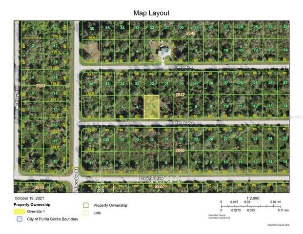 14028 Bethel Avenue, Port Charlotte, FL 33953 (MLS #A4515558) :: Armel Real Estate