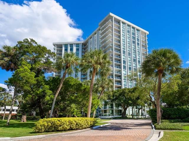 1111 N Gulfstream Avenue 10F, Sarasota, FL 34236 (MLS #A4515581) :: Medway Realty