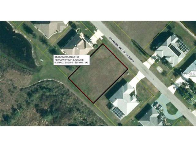 12895 Pembroke Circle S, Lake Suzy, FL 34269 (MLS #C7205802) :: RE/MAX Realtec Group