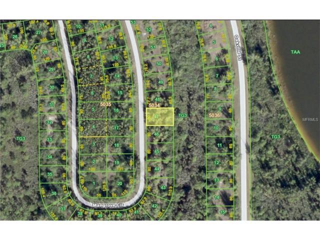 10550 Mangrove Circle, Port Charlotte, FL 33981 (MLS #C7220763) :: Medway Realty