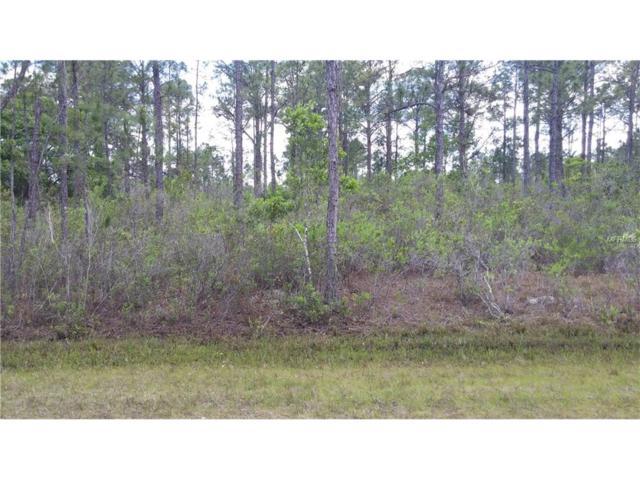815 Belmonte Drive, Indian Lake Estates, FL 33855 (MLS #C7224268) :: Team Pepka