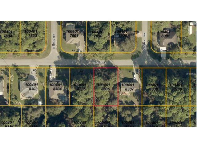 Lot 6 Crane Avenue, North Port, FL 34286 (MLS #C7235700) :: Premium Properties Real Estate Services