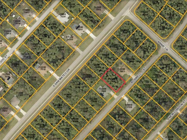 Boswell Street, North Port, FL 34288 (MLS #C7235845) :: Medway Realty