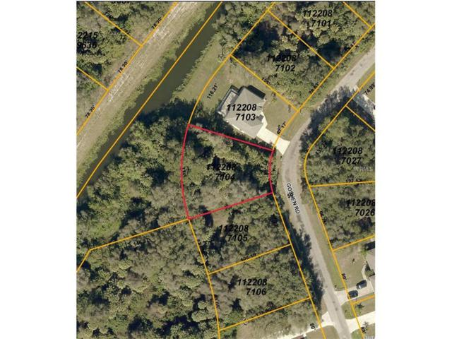 LOT 4 Goshen Road, North Port, FL 34288 (MLS #C7236141) :: Godwin Realty Group