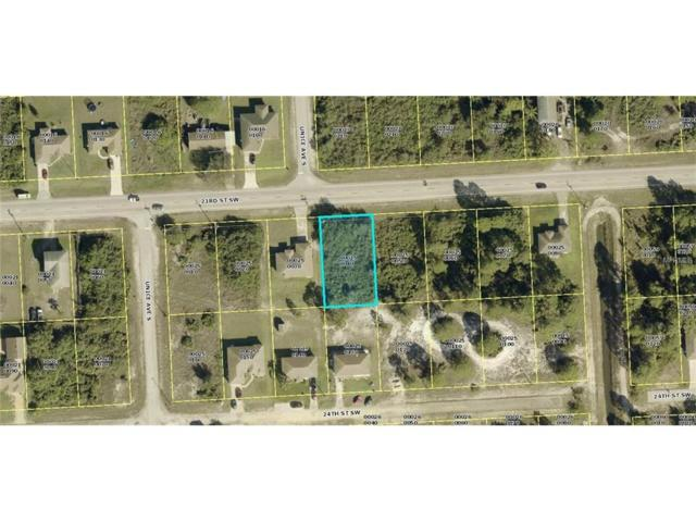 3509 23RD Street SW, Lehigh Acres, FL 33976 (MLS #C7240359) :: Premium Properties Real Estate Services