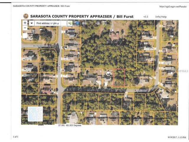 Coker Road, North Port, FL 34286 (MLS #C7243495) :: Medway Realty