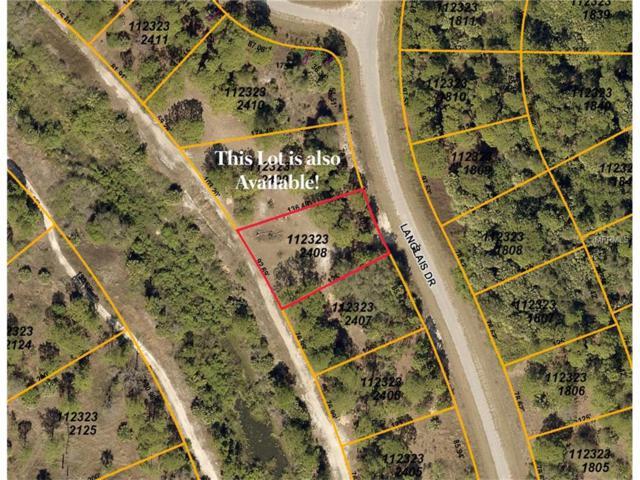 Lot 8 Langlais Drive, North Port, FL 34288 (MLS #C7243617) :: Team Pepka