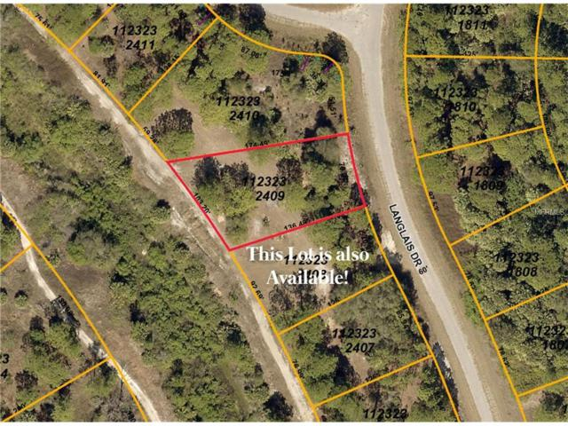 Lot 9 Langlais Drive, North Port, FL 34288 (MLS #C7243636) :: Team Pepka