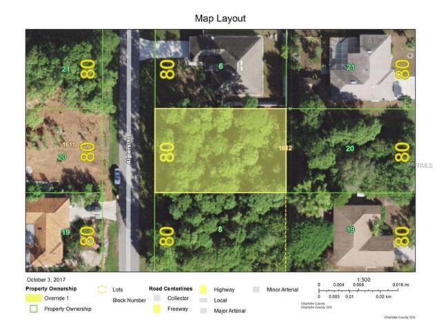 1354 Algiers Street, Port Charlotte, FL 33980 (MLS #C7244476) :: The Jack Bataoel Real Estate Group