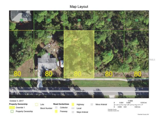 23484 Quasar Boulevard, Port Charlotte, FL 33980 (MLS #C7244479) :: The Jack Bataoel Real Estate Group
