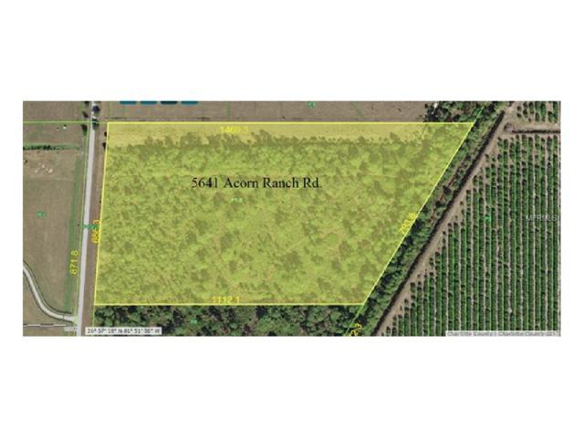 5641 Acorn Ranch Road, Punta Gorda, FL 33982 (MLS #C7244629) :: Medway Realty