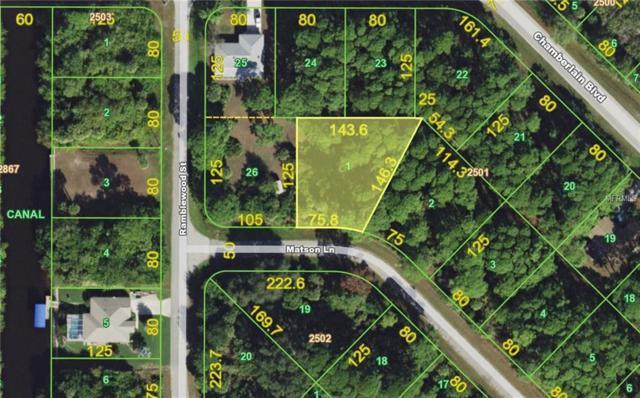 306 Matson Lane, Port Charlotte, FL 33953 (MLS #C7248526) :: Godwin Realty Group