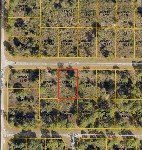 Paso Avenue, North Port, FL 34291 (MLS #C7248641) :: G World Properties