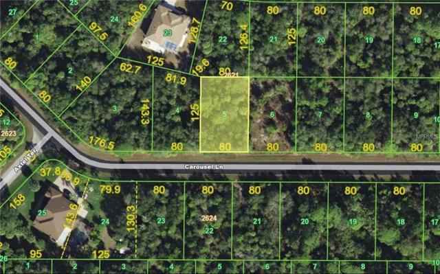 14346 Carousel Drive, Port Charlotte, FL 33953 (MLS #C7249336) :: Premium Properties Real Estate Services
