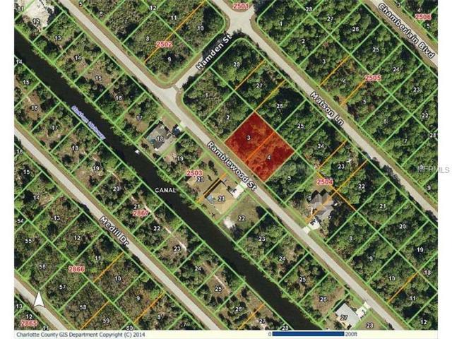 436 Ramblewood Street, Port Charlotte, FL 33953 (MLS #C7249474) :: Godwin Realty Group