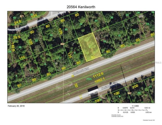 20564 Kenilworth Boulevard, Port Charlotte, FL 33954 (MLS #C7249572) :: Team Turk Real Estate