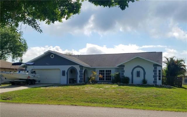 967 Dobell Terrace NW, Port Charlotte, FL 33948 (MLS #C7249886) :: Godwin Realty Group